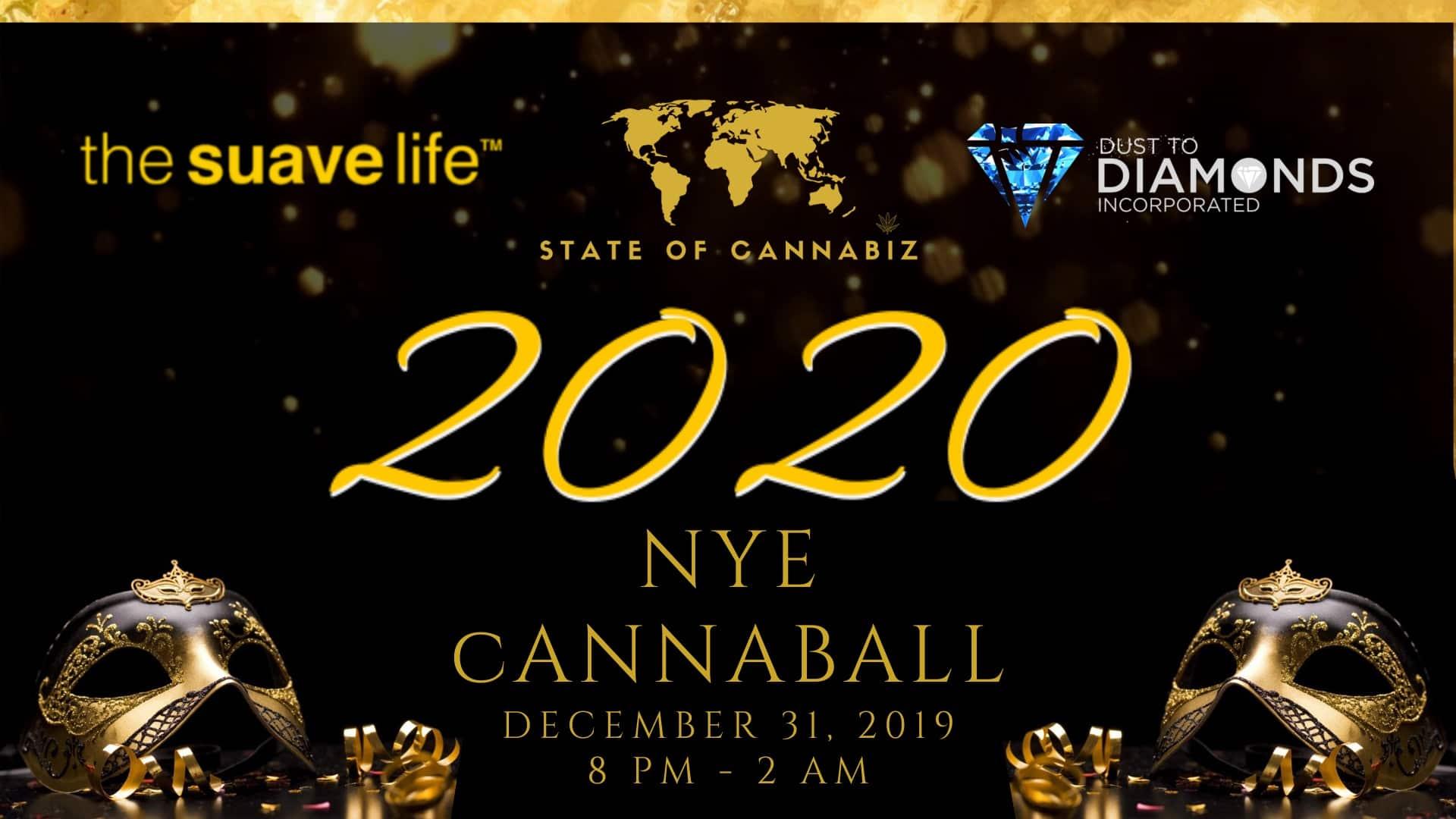 2020 NYE CannaBall & Civic Impact Awards VIP Reception (20% Off Promo)