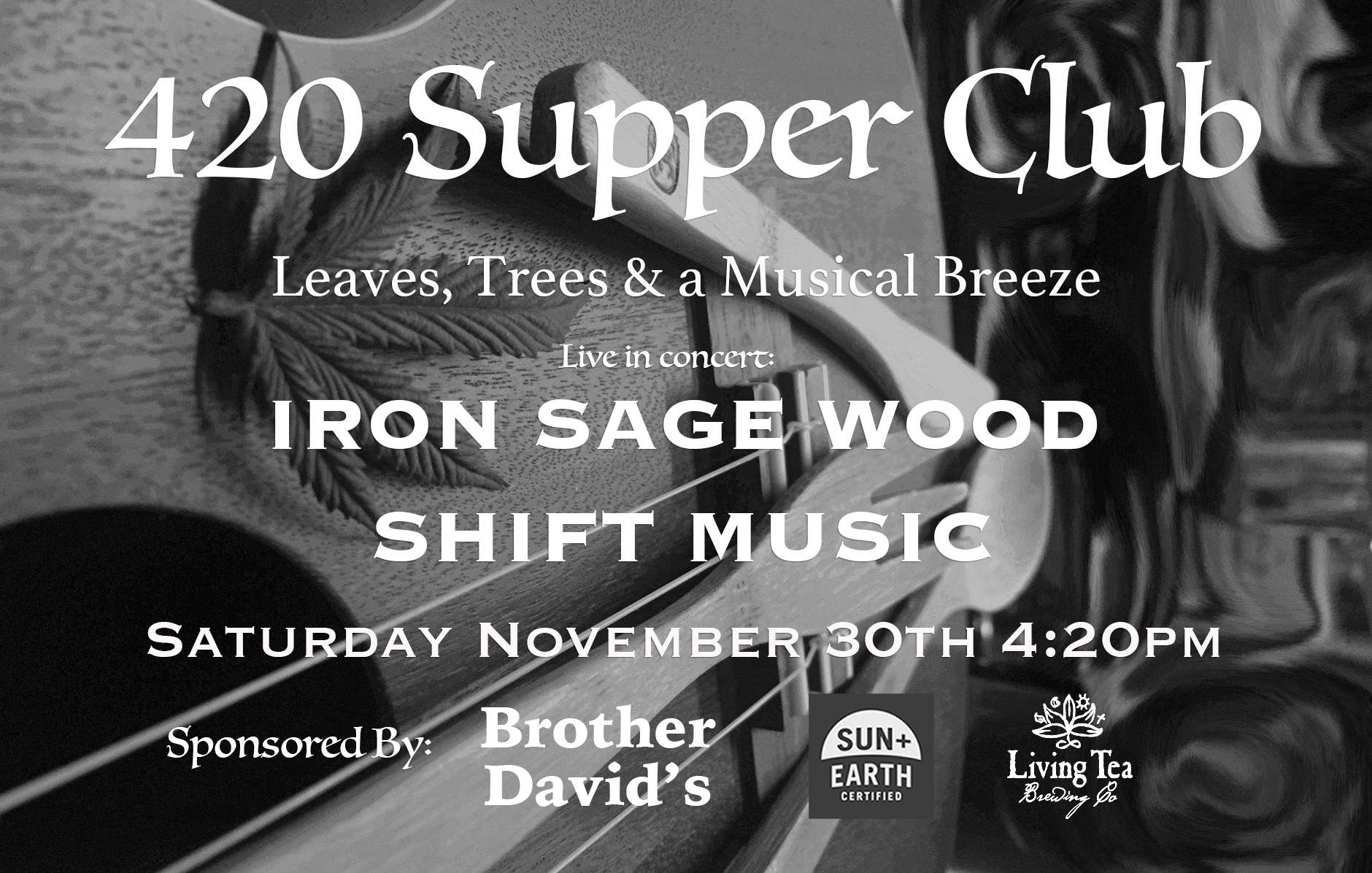 420 Supper Club - 4 course Dinner & Show