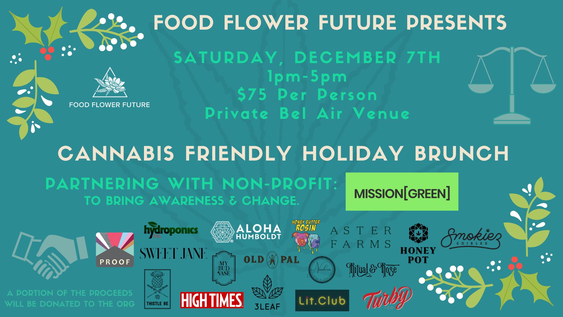 Cannabis Friendly Holiday Brunch