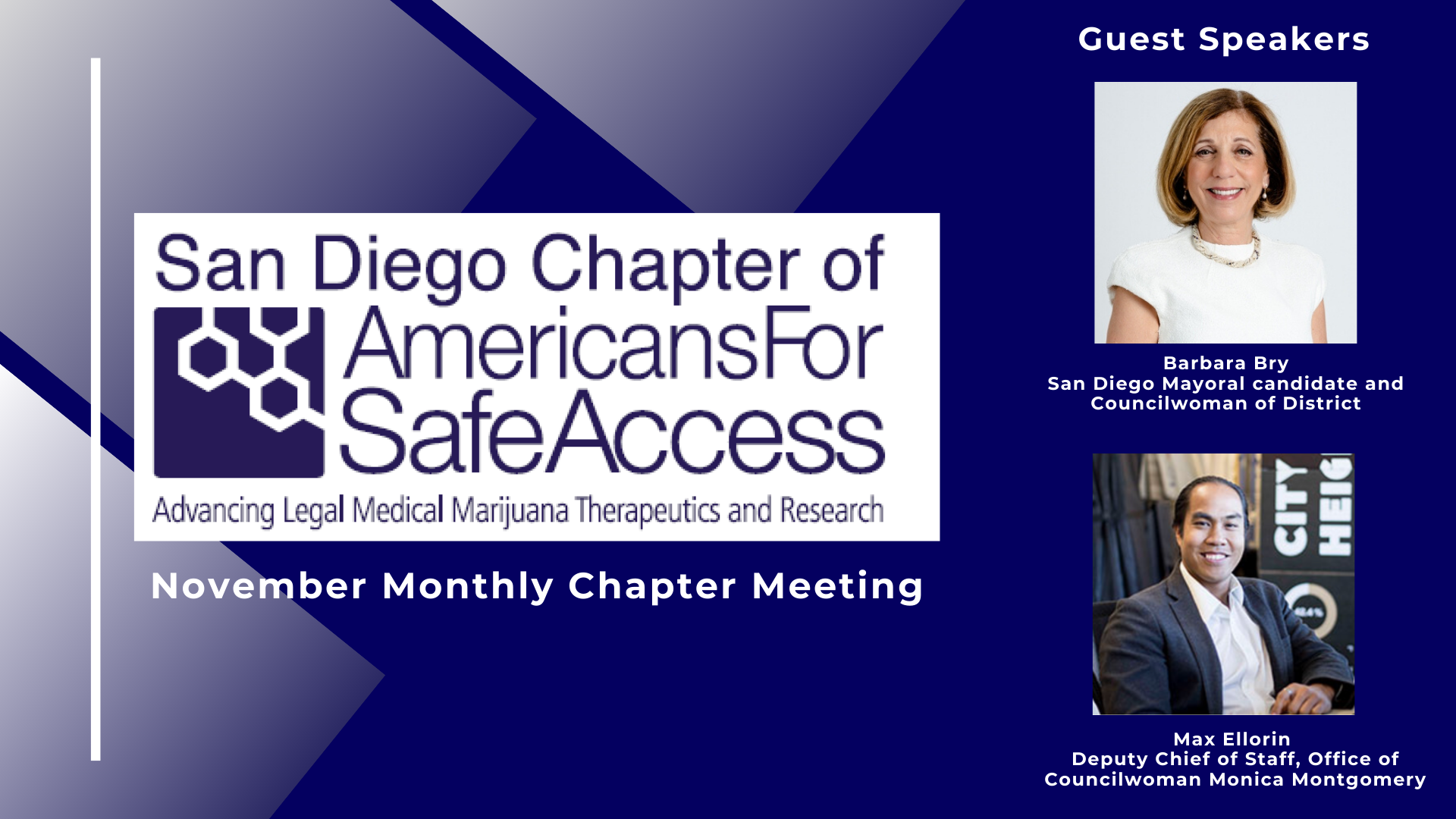 SDASA November Monthly Chapter Meeting
