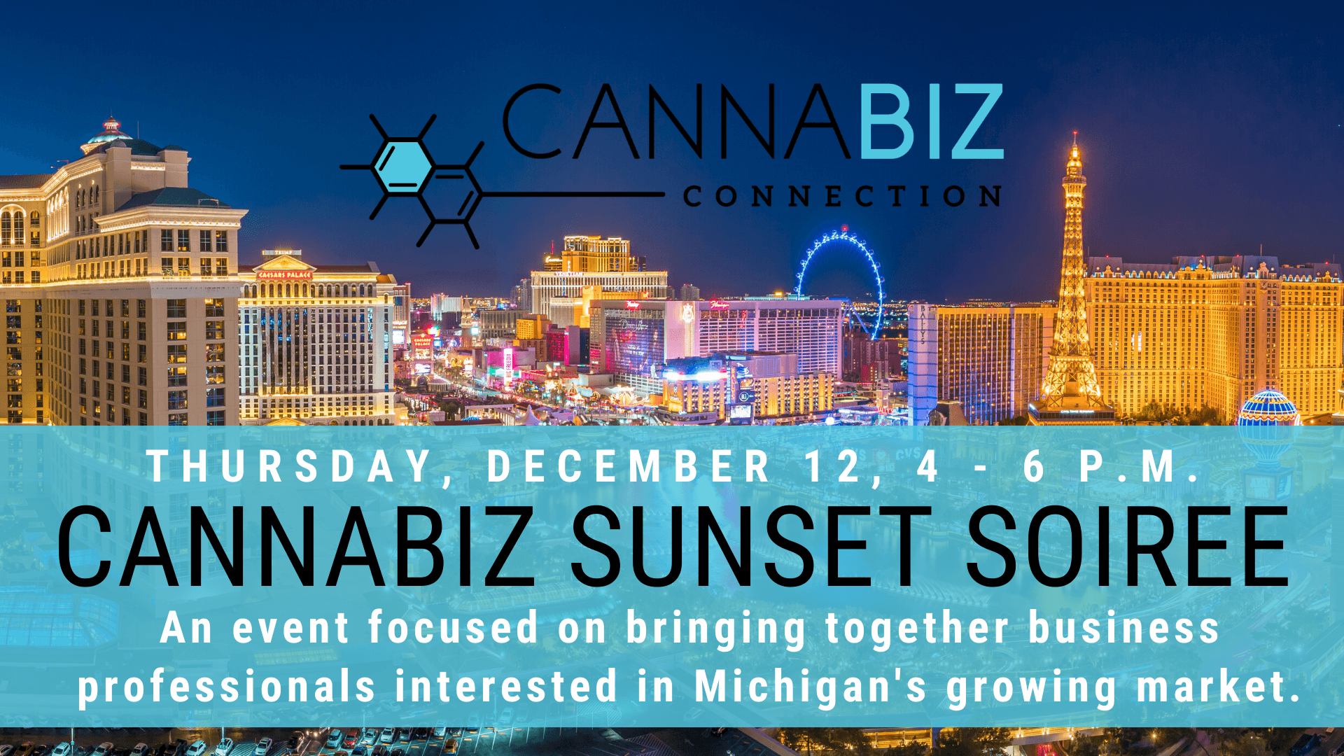 Cannabiz Connection Sunset Soiree at MJBizCon