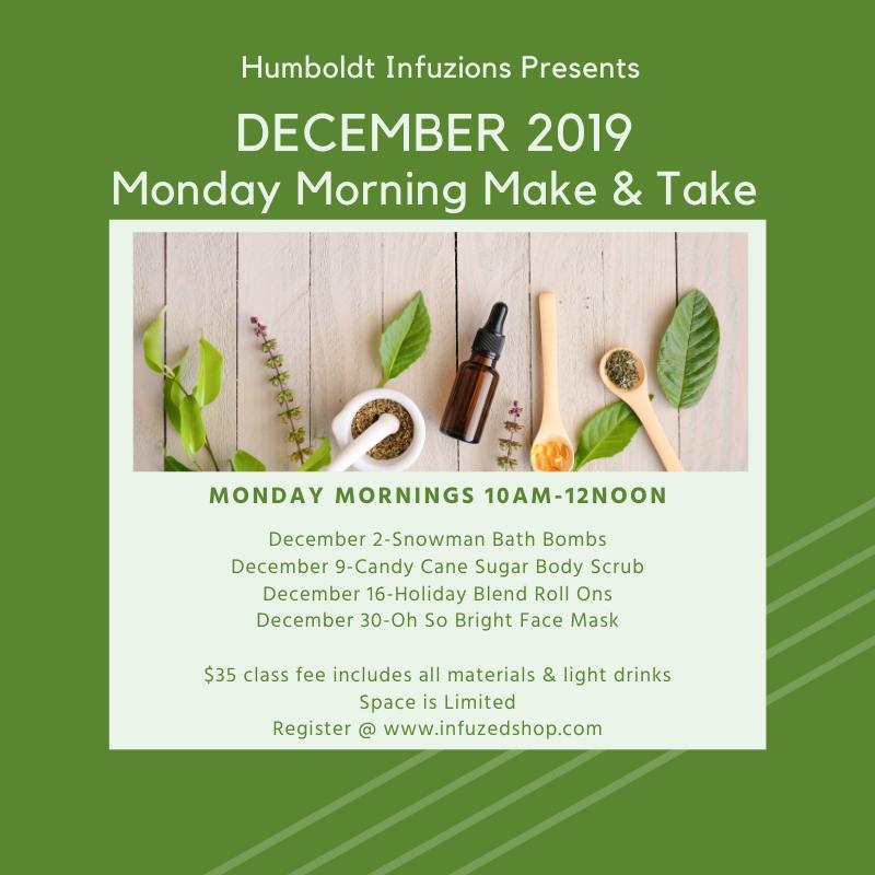 December Monday Make & Take