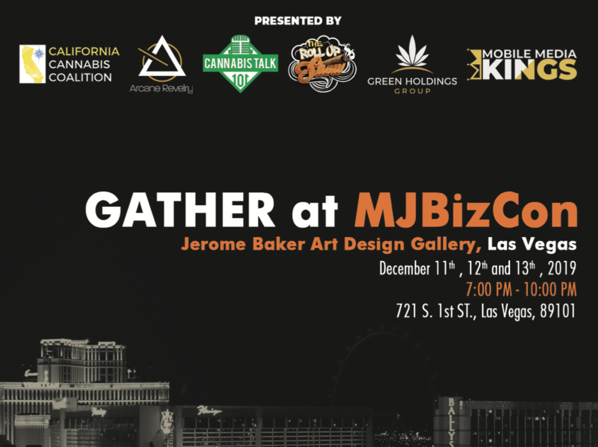 GATHER at MJ Biz Con - Jerome Baker Art Design Gallery December 11th