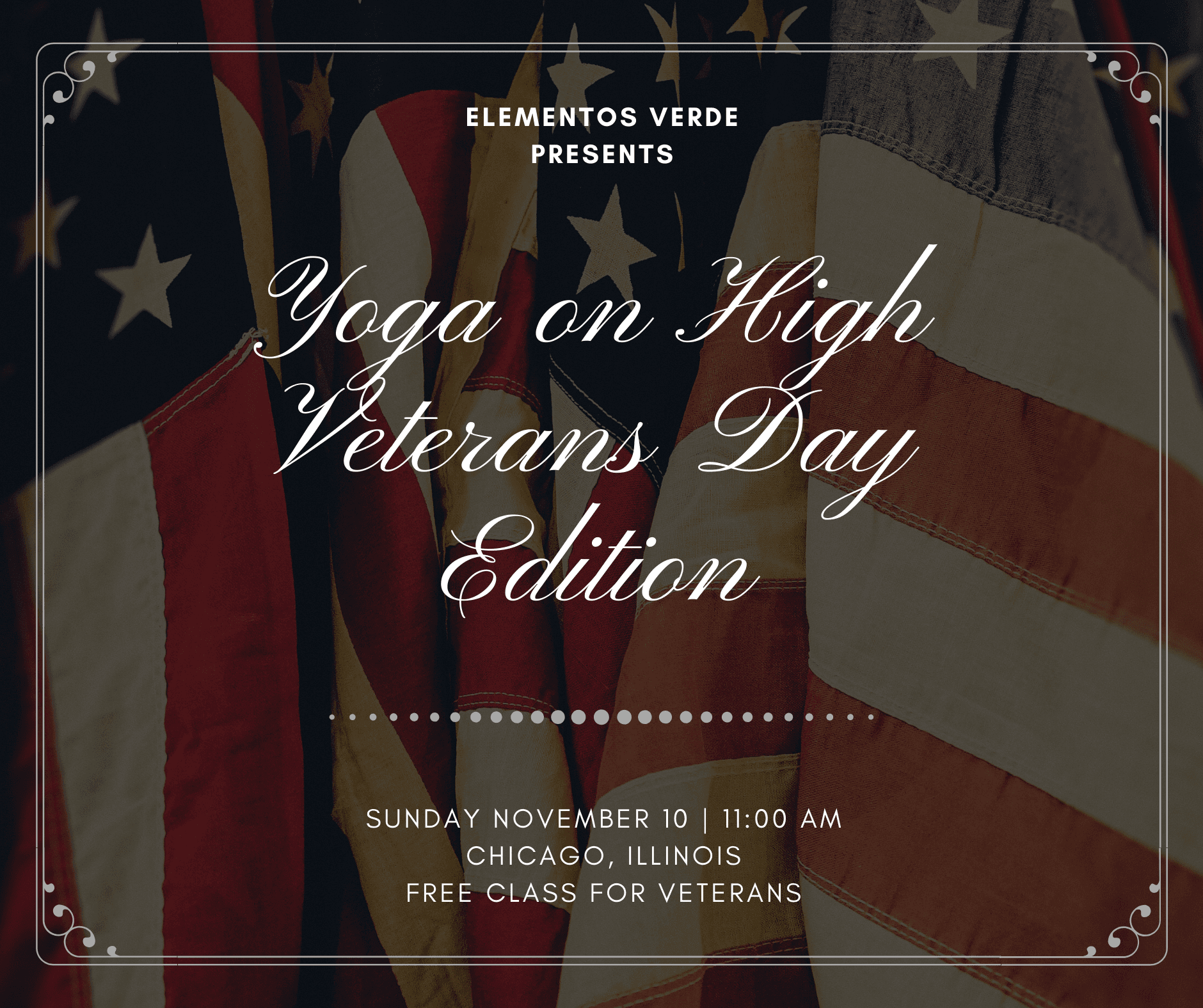 Veterans Day: Yoga on High Edition - Chicago