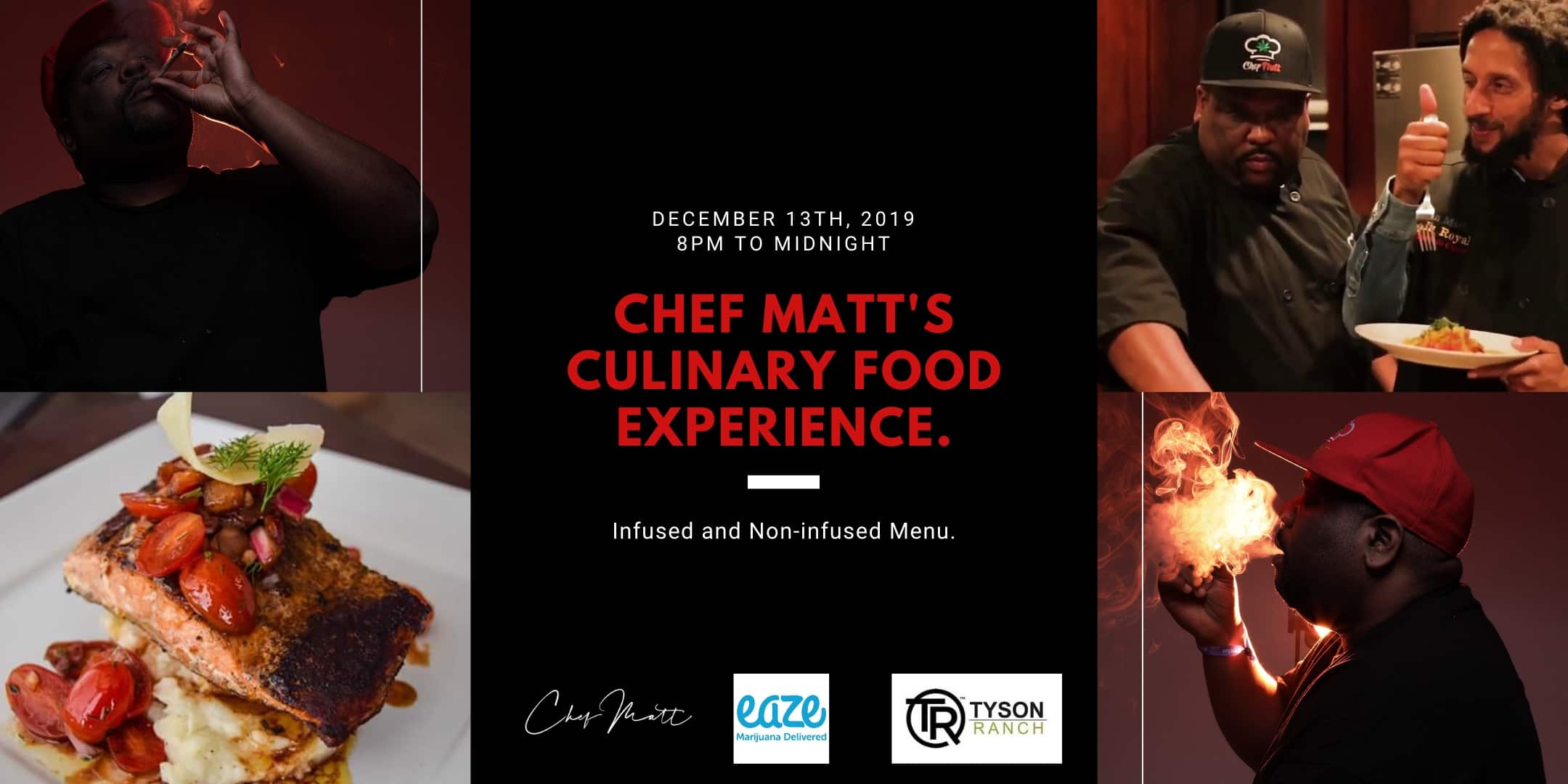 Chef Matt's Food Experience Las Vegas Networking Mixer