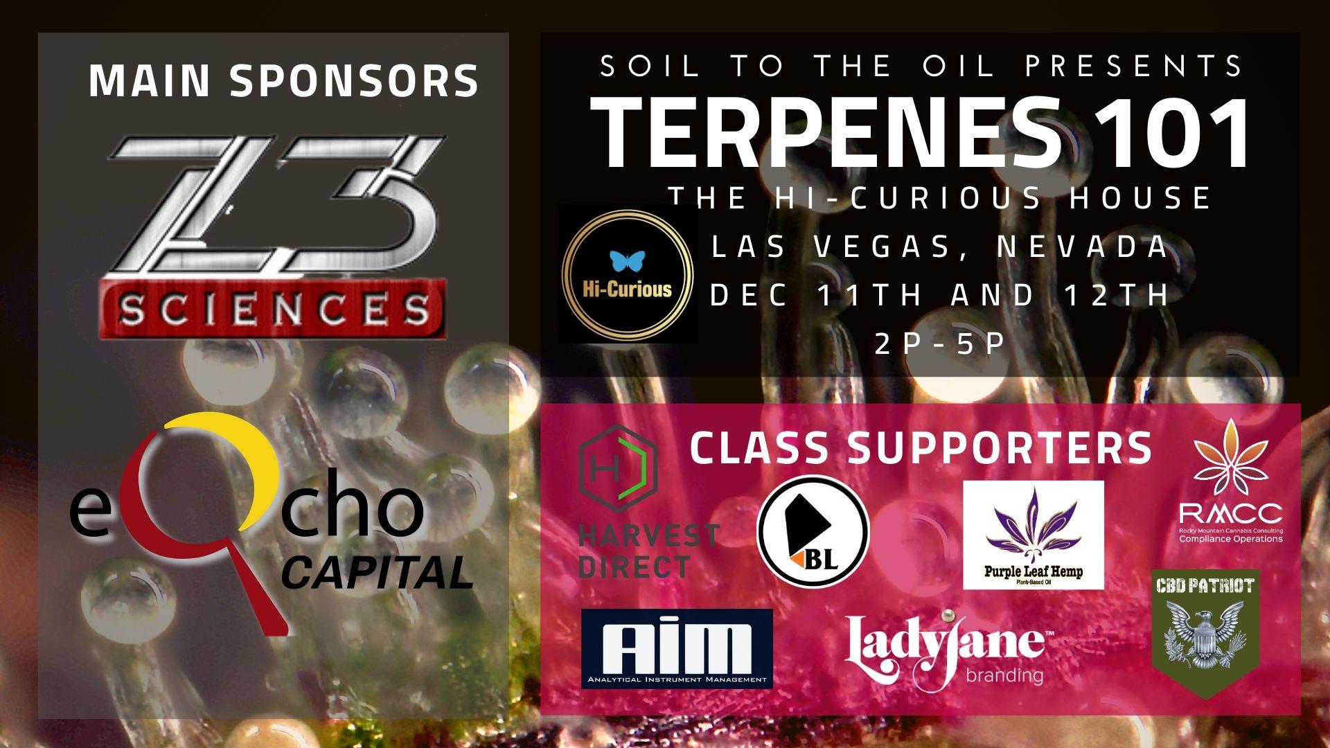 Z3 Sciences and eQcho Capital Presents Terpenes 101 - 12/12/19