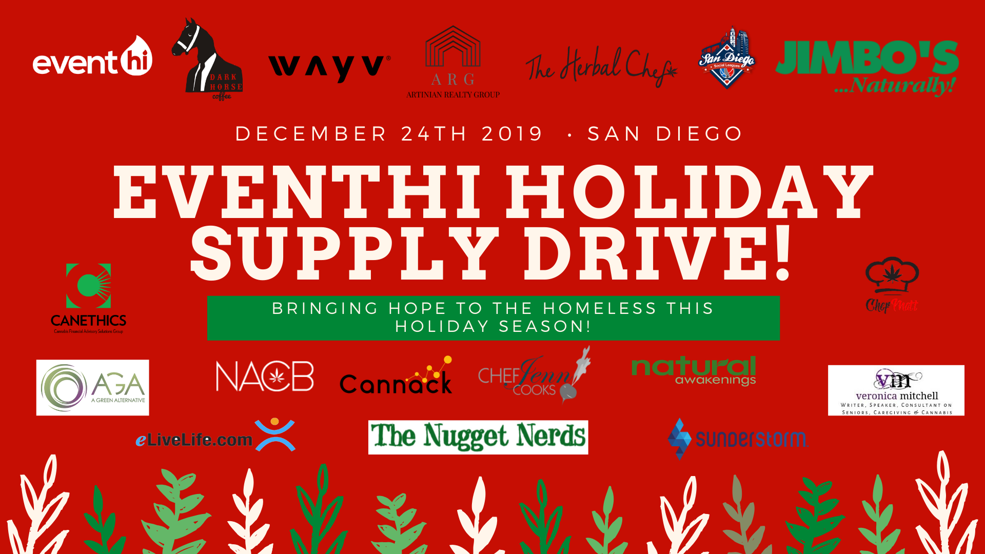 EventHi Holiday Supply Drive (Sponsorships)