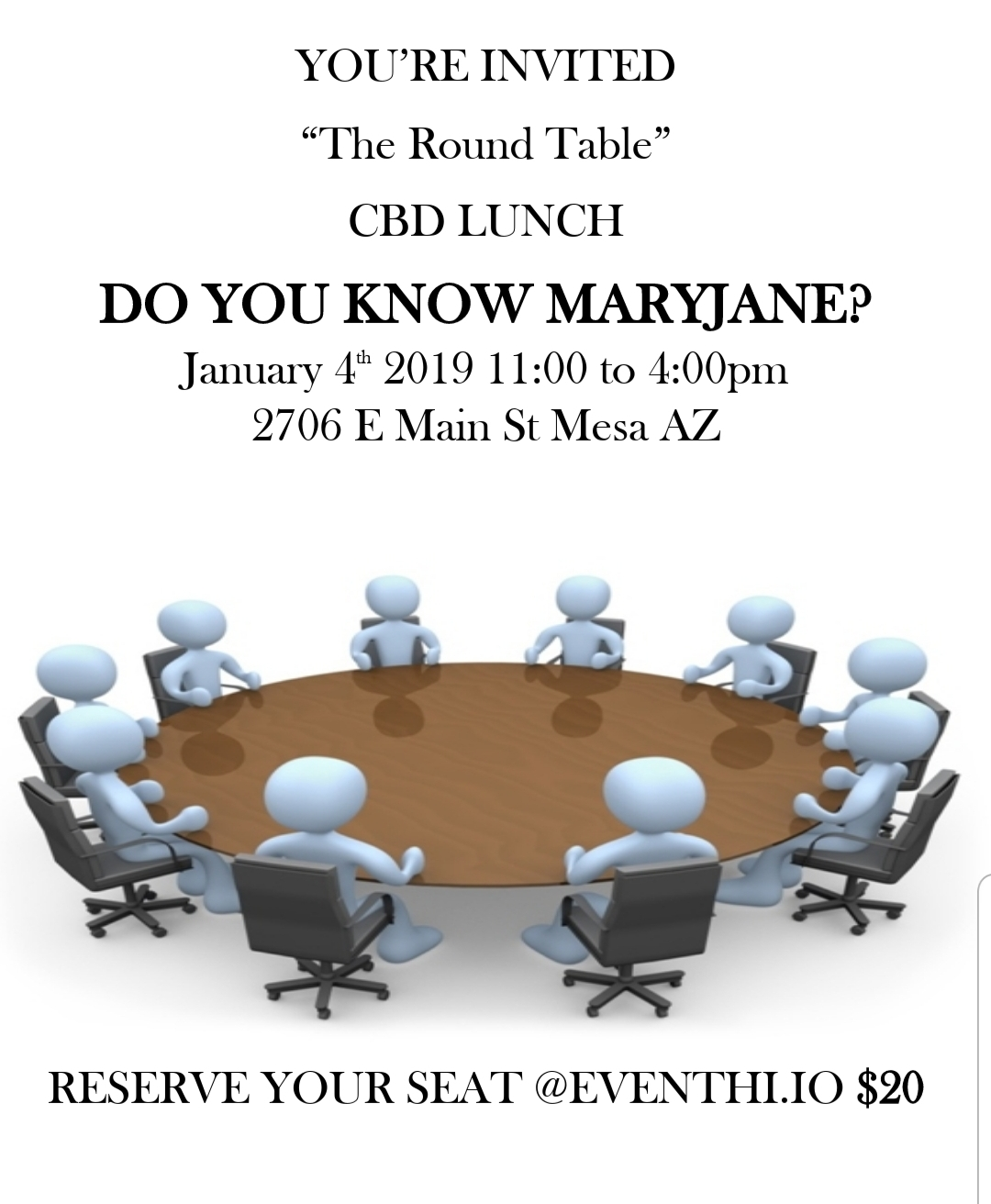 The Round Table CBD Lunch