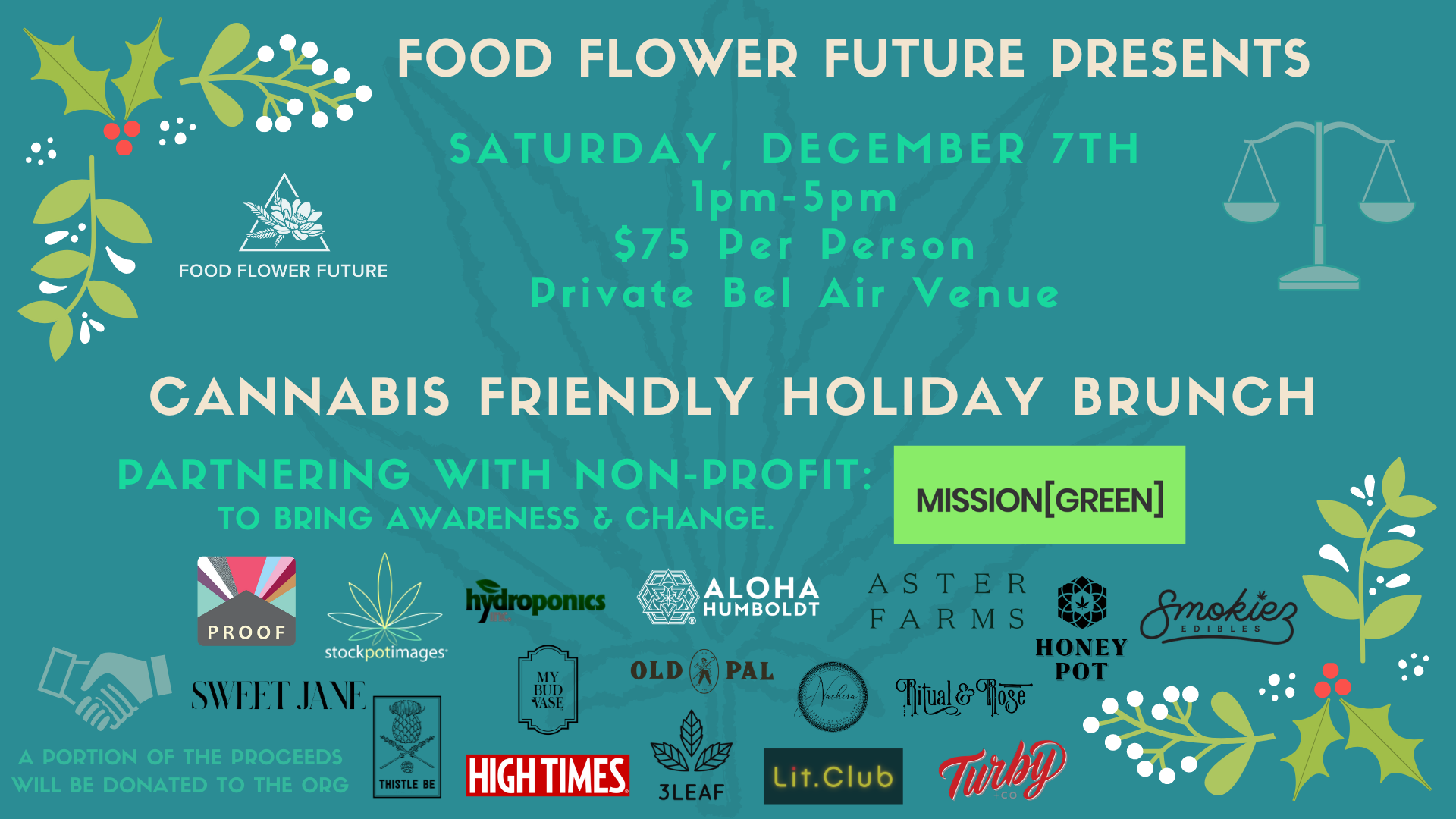 Cannabis Friendly Holiday Brunch
