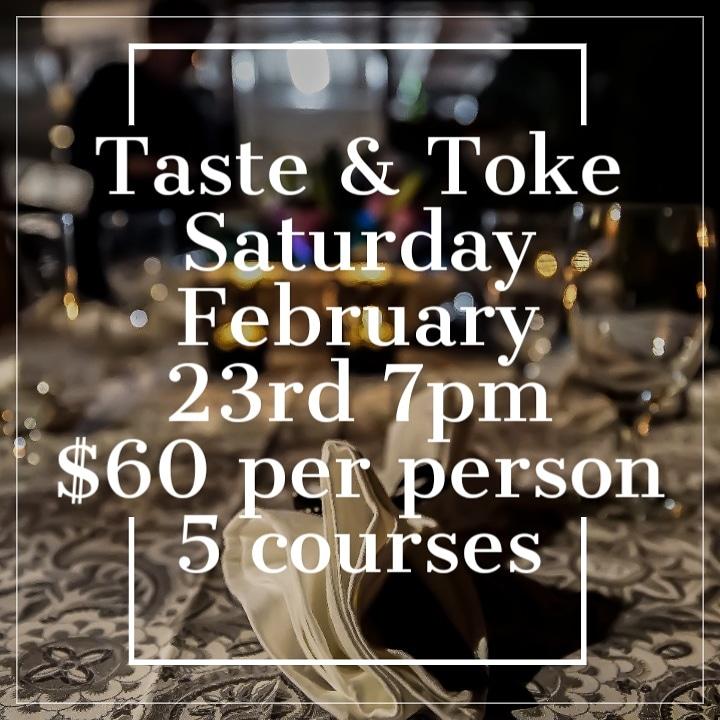 Toke & Taste