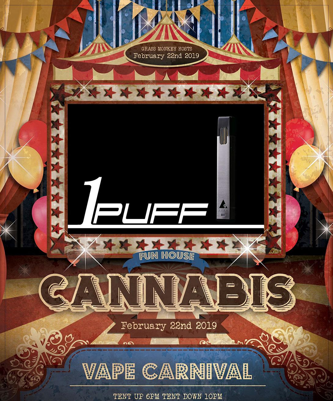 1 PUFF Vape Carnival