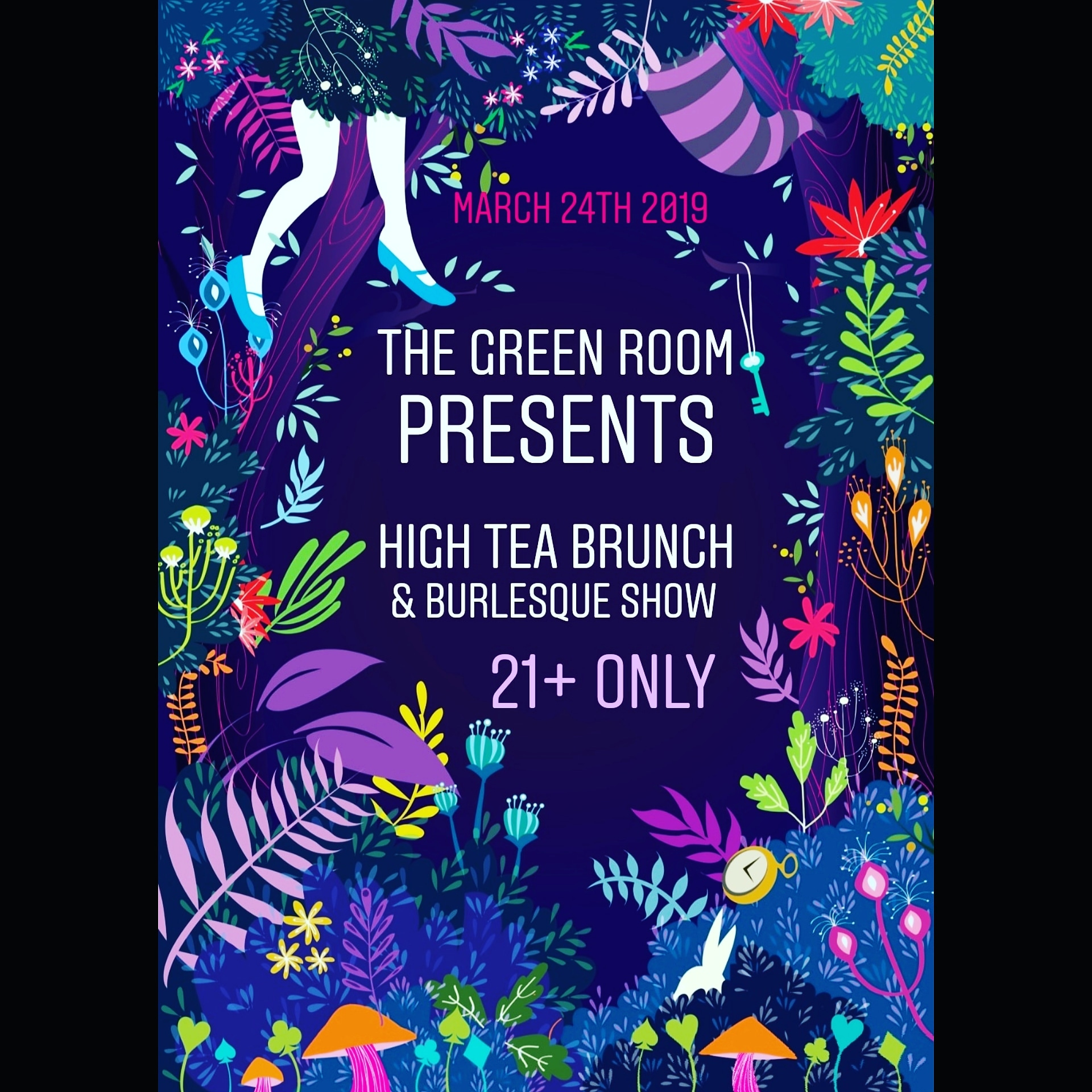 High Tea Brunch & Burlesque Show