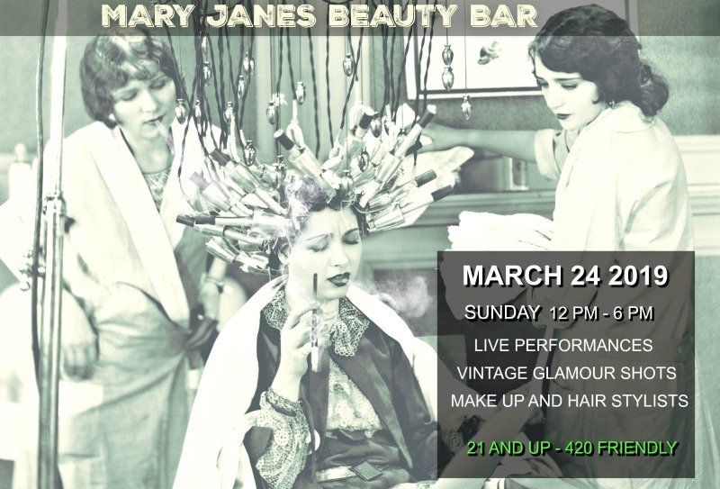 Mary Jane's Beauty Bar Present Ganja Chica