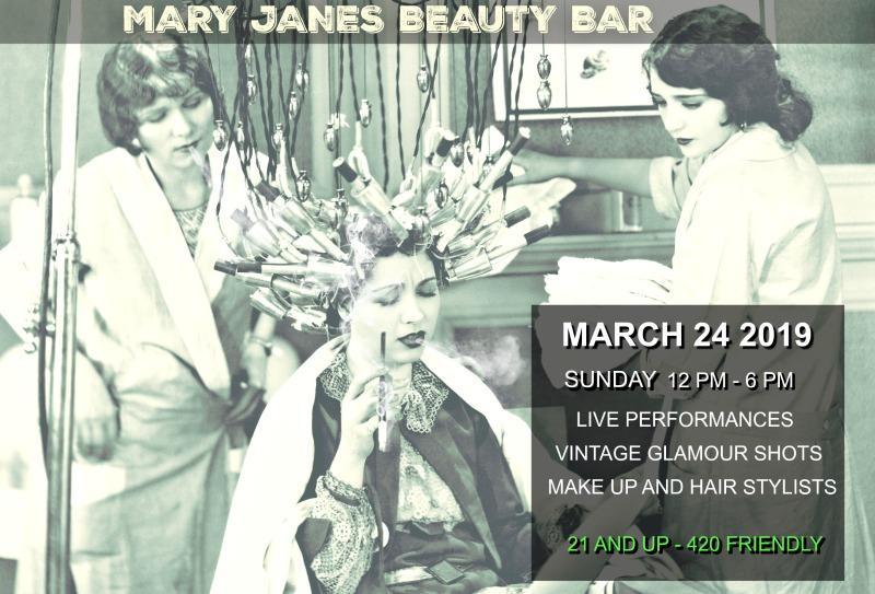 Mary Jane's Beauty Bar Present Ganja Chica