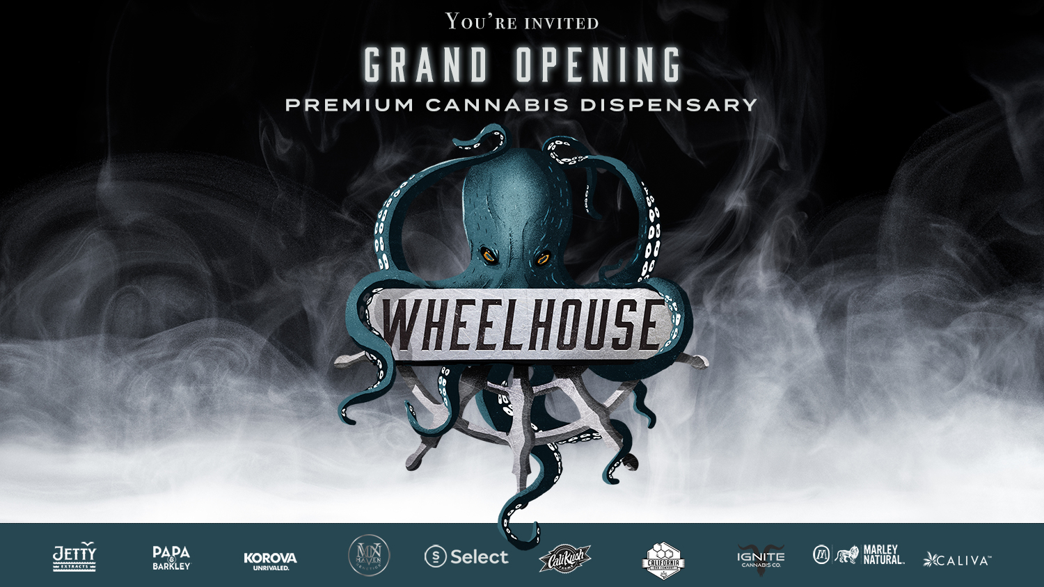 "Wheelhouse Dispensary ""Grand Opening"" Party!"