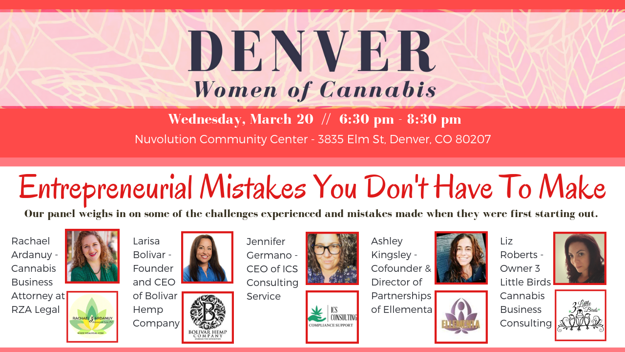Denver Women of Cannabis - March Networking Event