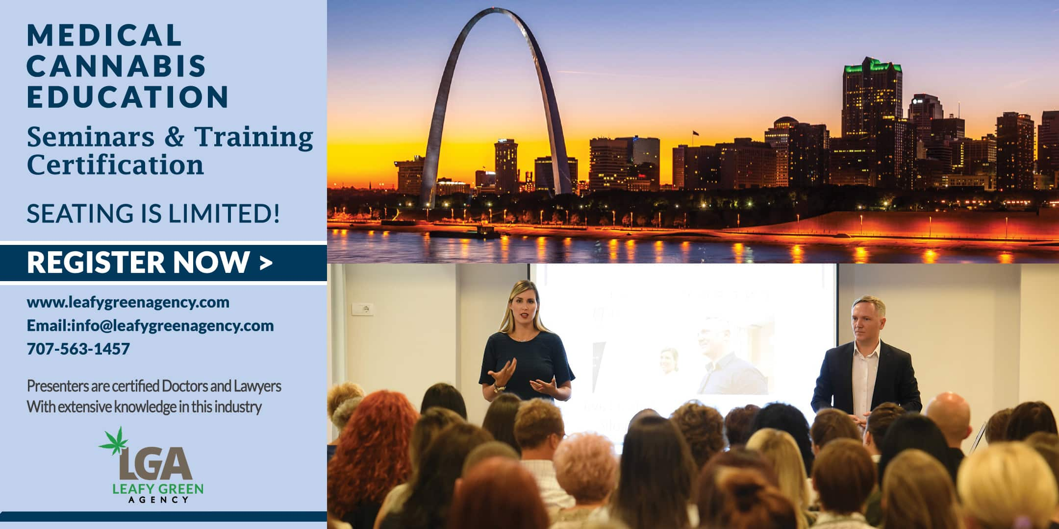 Breaking into Medical Marijuana Industry for Entrepreneurs and Employee Training St. Louis May 4th
