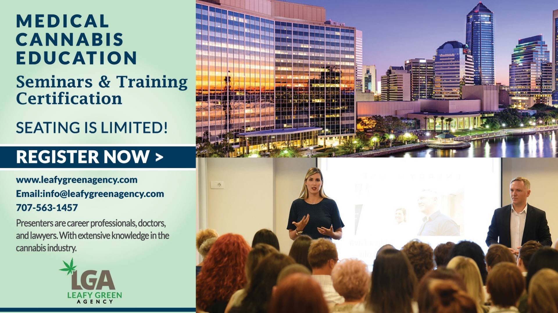 Breaking into Medical Marijuana Industry for Entrepreneurs and Employee Training Jacksonville, FL - April 6th