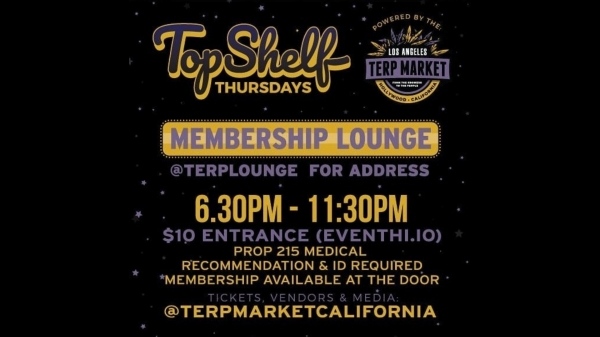 Top Shelf Thursday Los Angeles 3/21