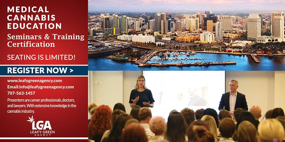 California Advanced Budtender and Brand Ambassador Sales Training San Francisco April 13th