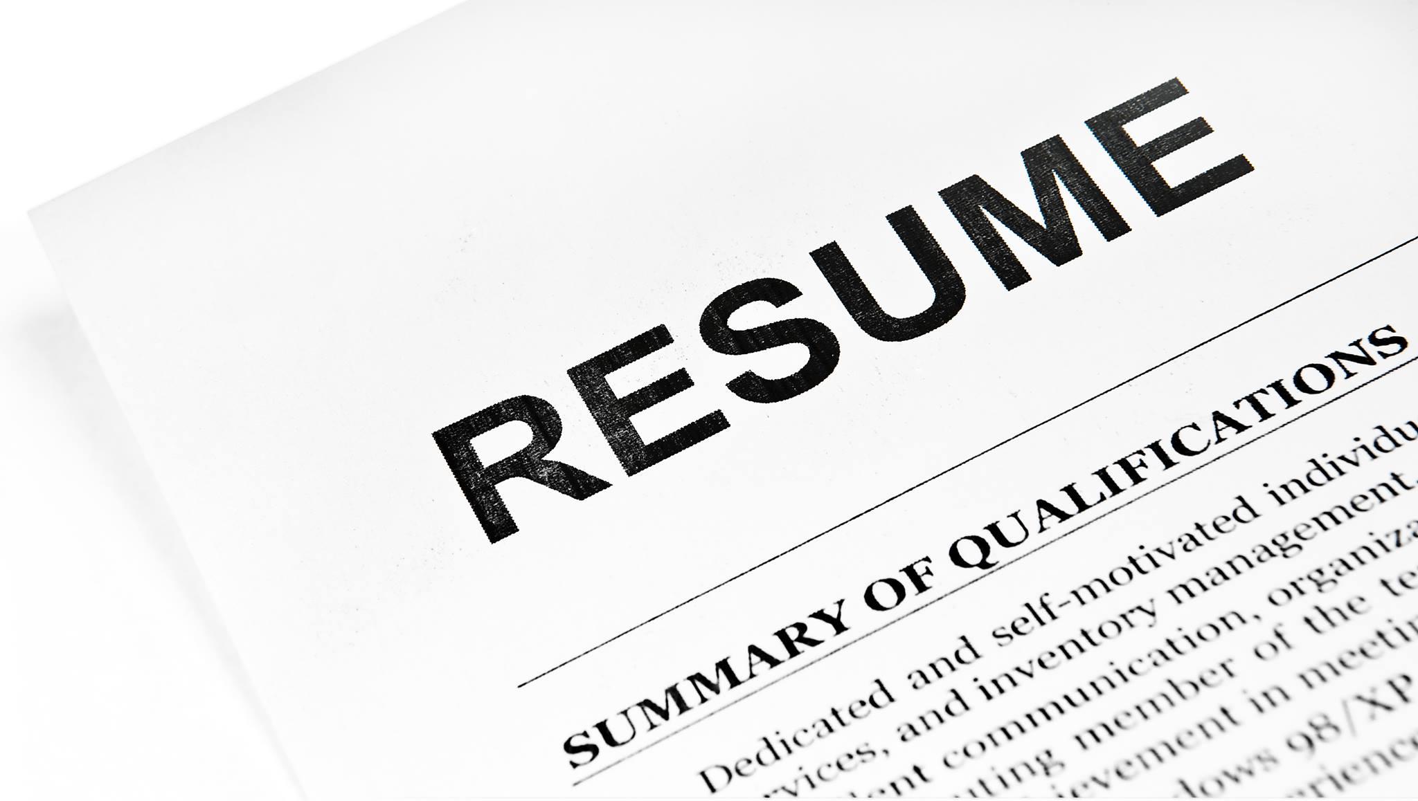 Resume Preparation and Job hunting