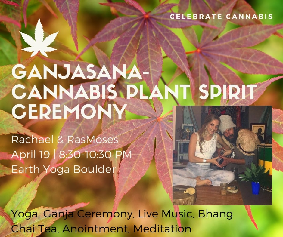 Ganjasana - Cannabis Yoga Ceremony with LIVE Rasta Music