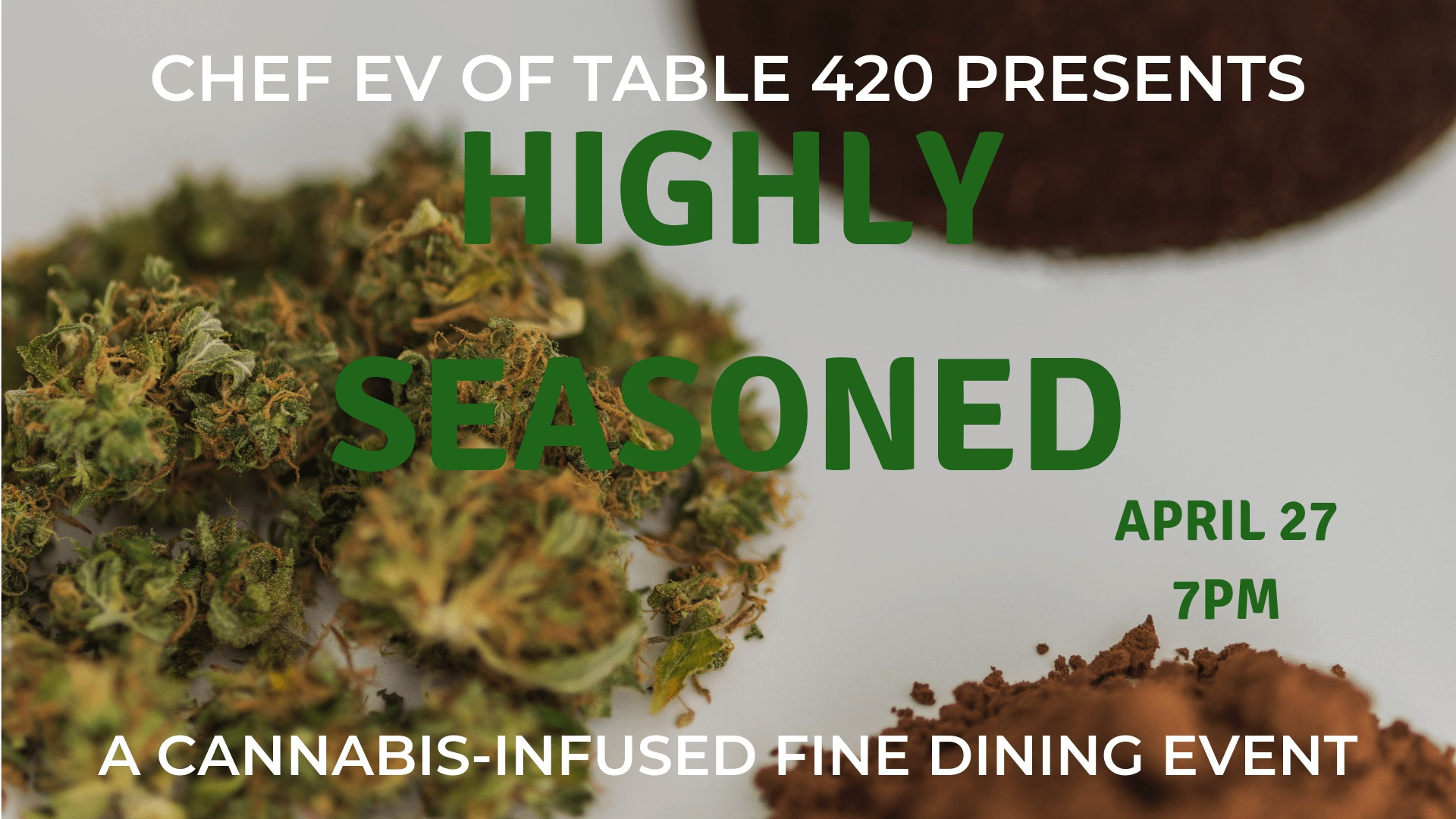"The Table 420 Presents ""One Night in New Orleans"" A Highly Seasoned Experience of Cannabis and Fine Dining"