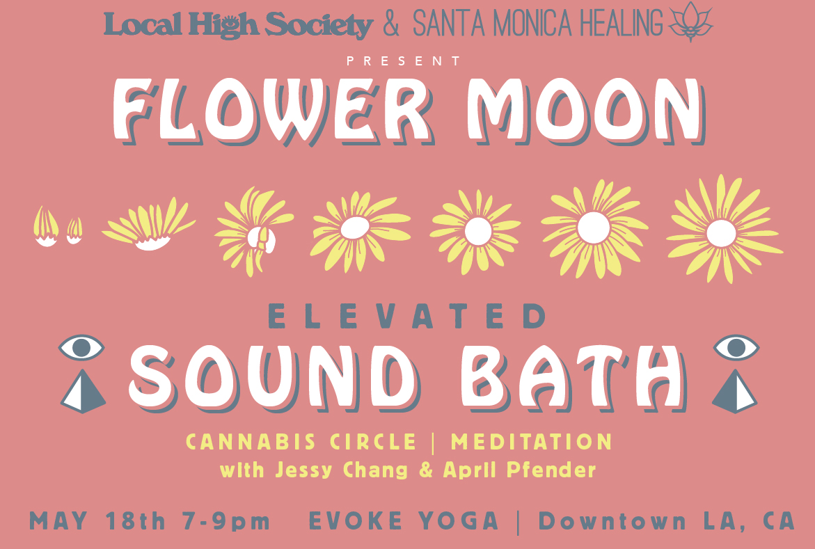 Flower Moon Elevated Sound Bath