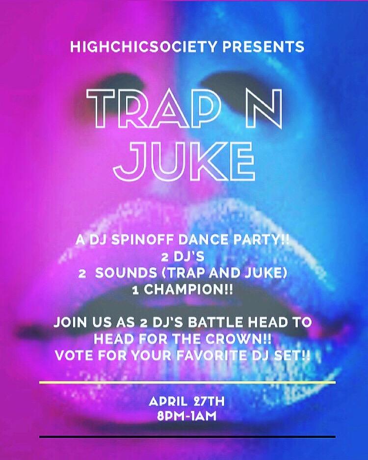 """""""TrapNJuke"""" A DJ Spinoff Battle!!"""