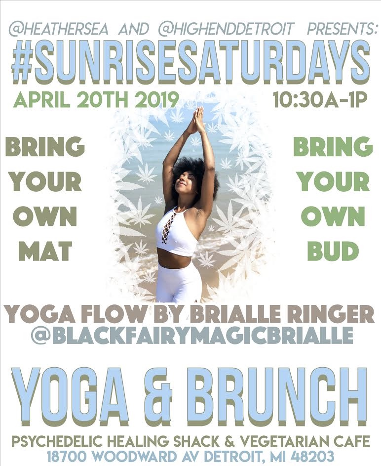#SunriseSaturdays 420 Edition