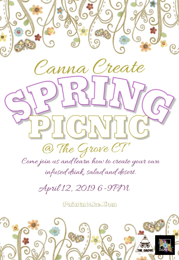 Spring picnic with Canna Create