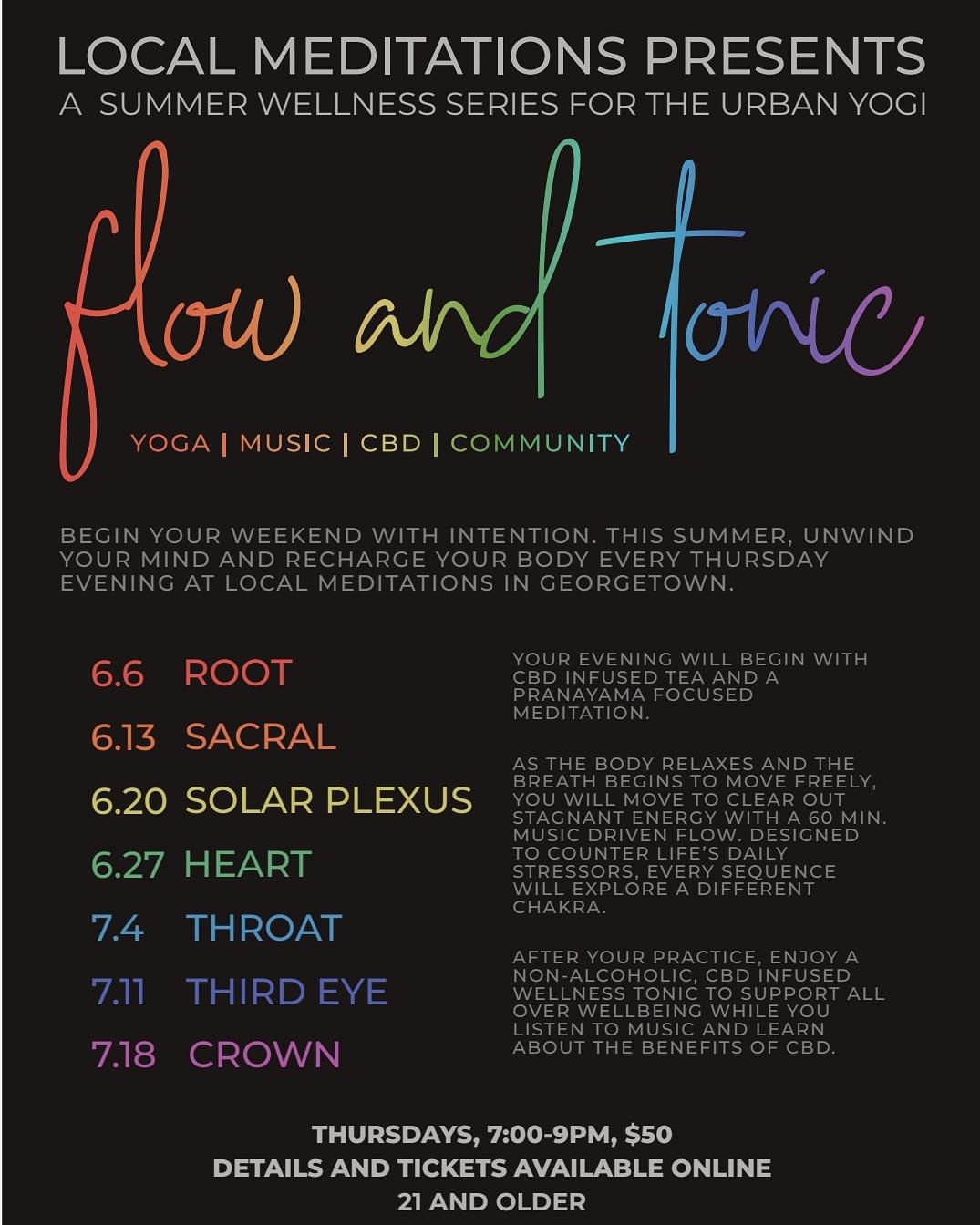 CBD Tonic & Flow Root Chakra