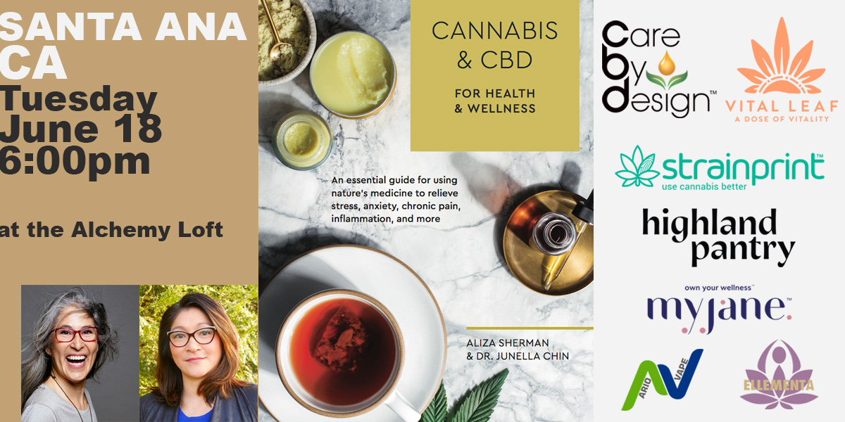 Cannabis and CBD Book Event: Book Signing Santa Ana
