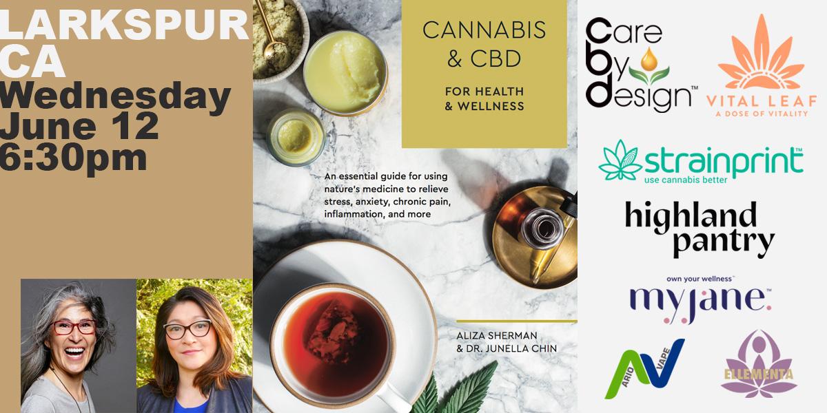 Ellementa Marin (Larkspur): Cannabis and CBD Book Event