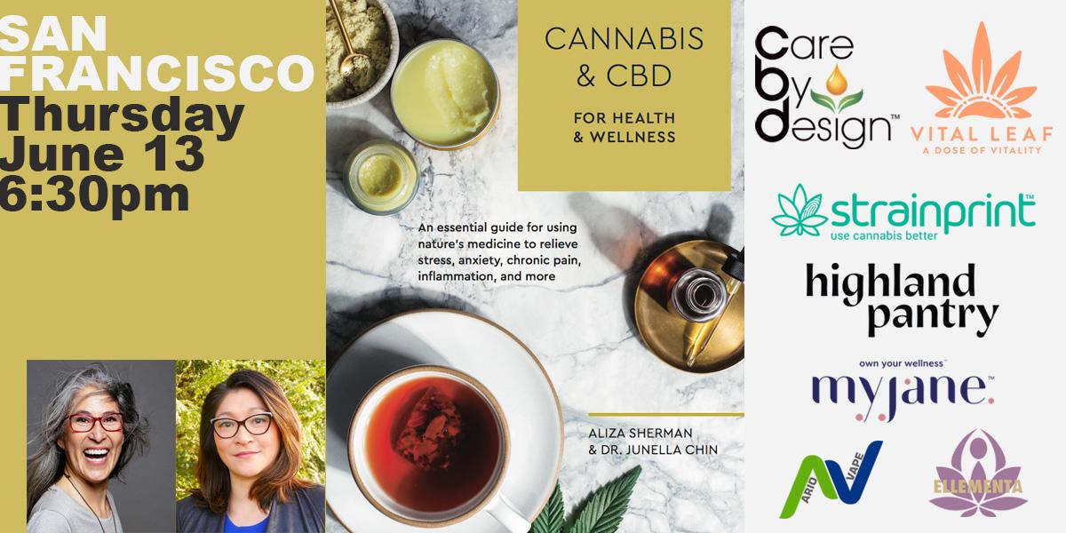Book Launch Party San Francisco: Cannabis & CBD for Health & Wellness