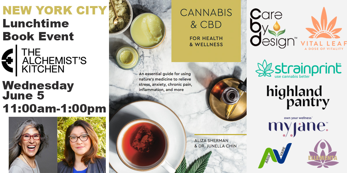 Book Signing: Cannabis and CBD Event at The Alchemist's Kitchen