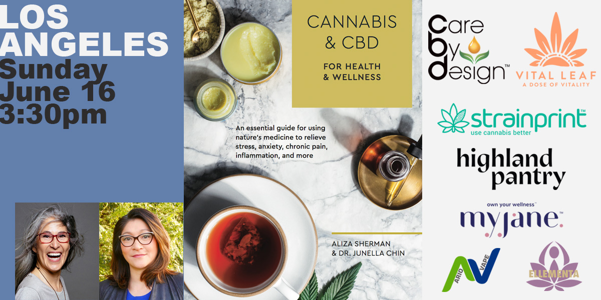 Book Launch Party Los Angeles: Cannabis and CBD for Health & Wellness