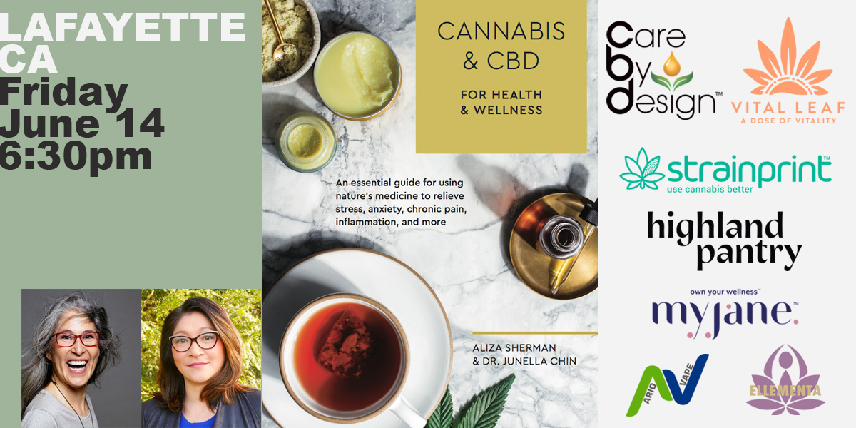 Ellementa SF East Bay (Lafayette): Cannabis and CBD Book Event