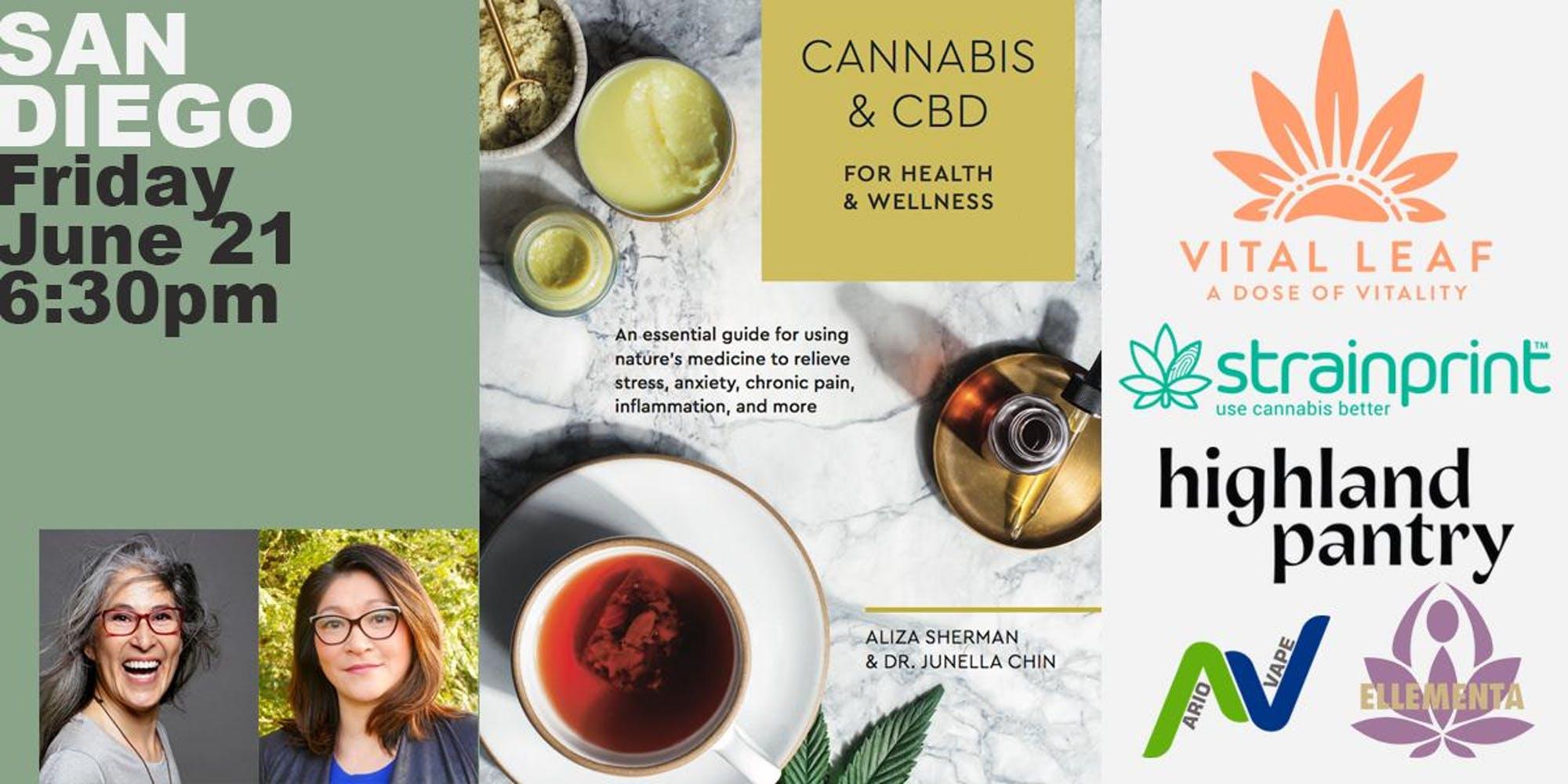 Book Launch Party San Diego: Cannabis & CBD for Health & Wellness
