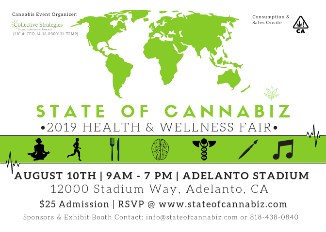State of Cannabiz 2019- Health & Wellness Fair