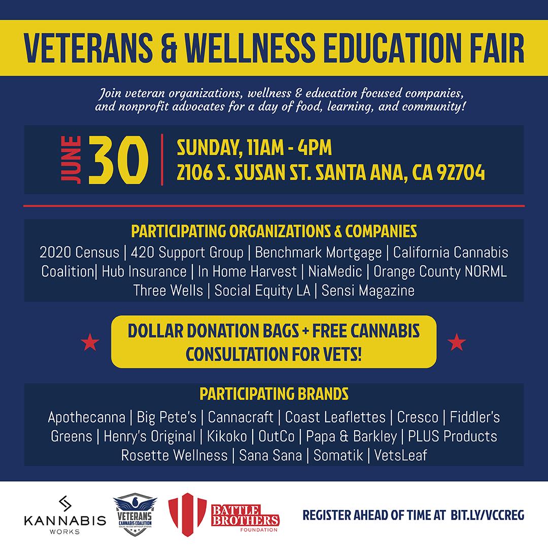 Veterans Wellness & Education Fair