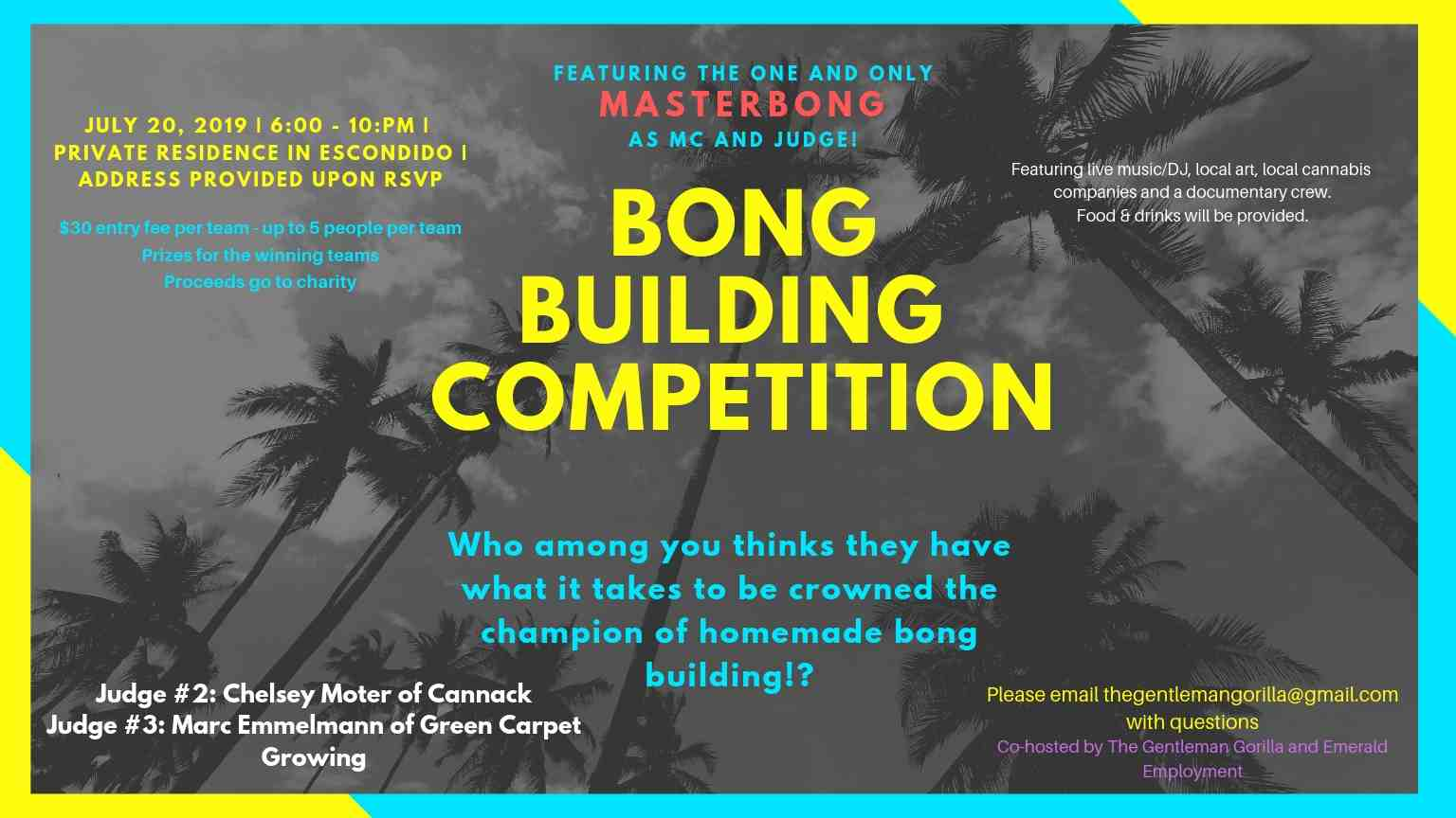 Bong Building Competition