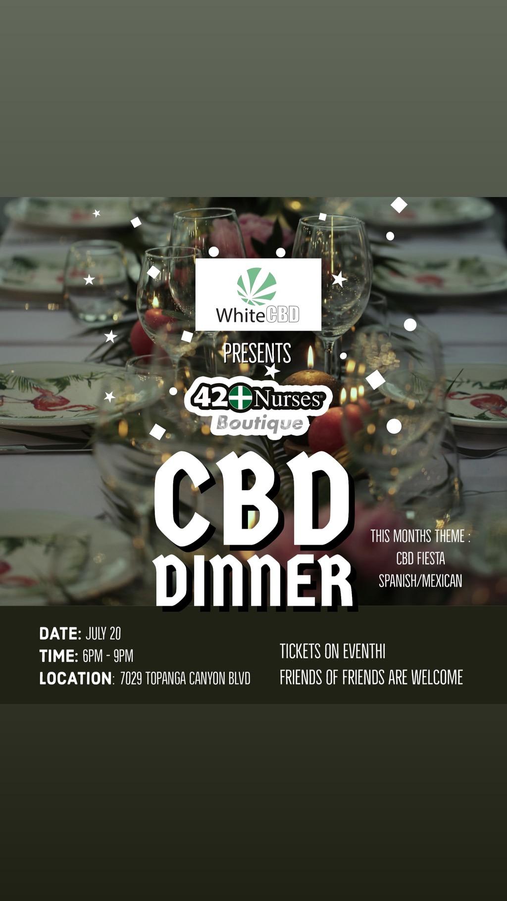 CBD DINNER