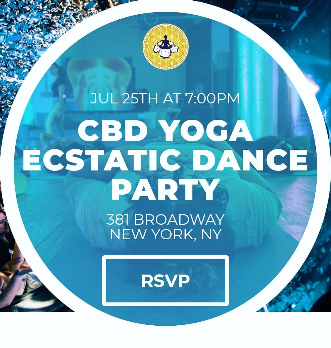 CBD Yoga Ecstatic Dance Party