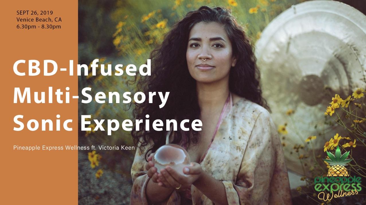Pineapple Express Wellness CBD - Infused Multi Sensory Sonic Experience