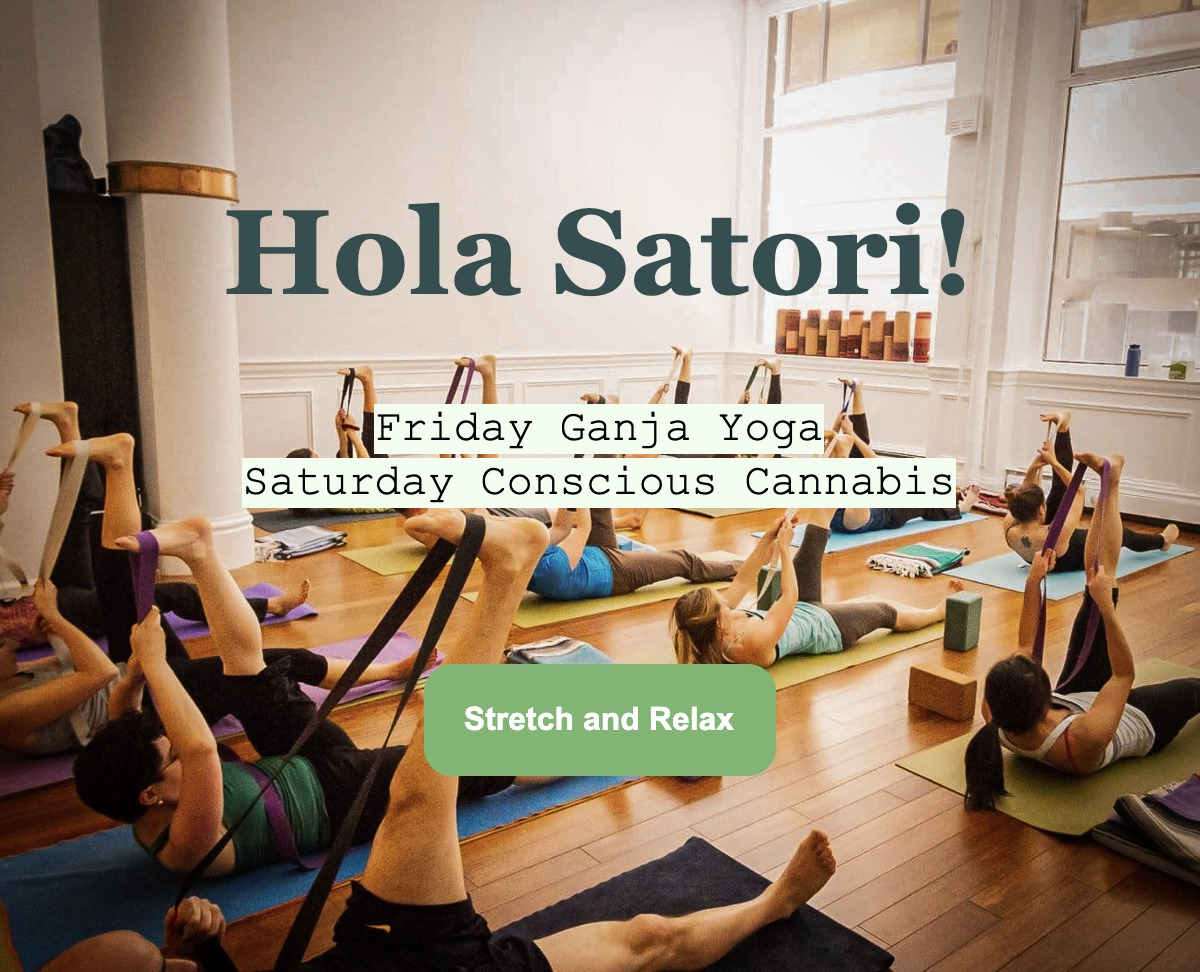 Ganja Yoga San Francisco - Friday Slow Flow