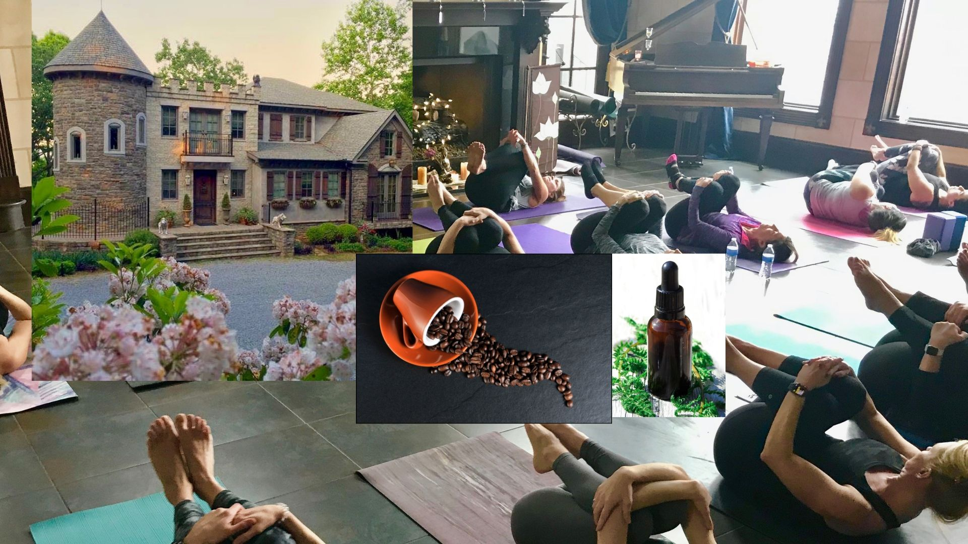 ALPACA FARM/ CBD Yoga, Coffee and Cookies at The Castle