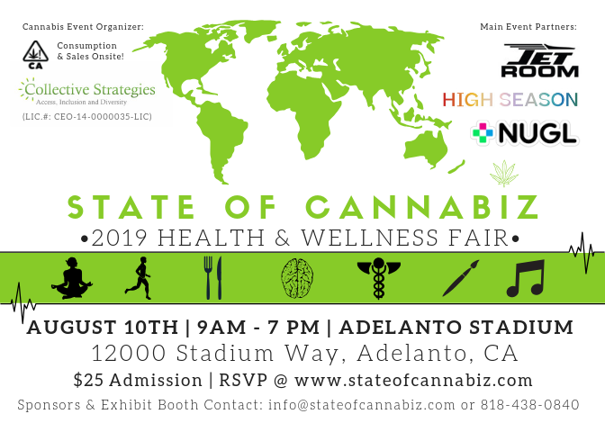 State of Cannabiz - 2019 Health & Wellness Fair (50% Off Promo)