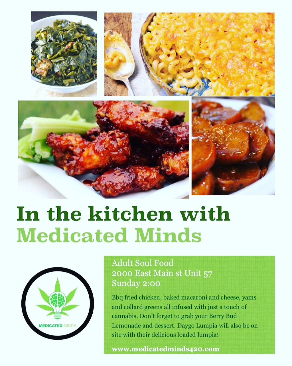 Infused Soul Food Sunday