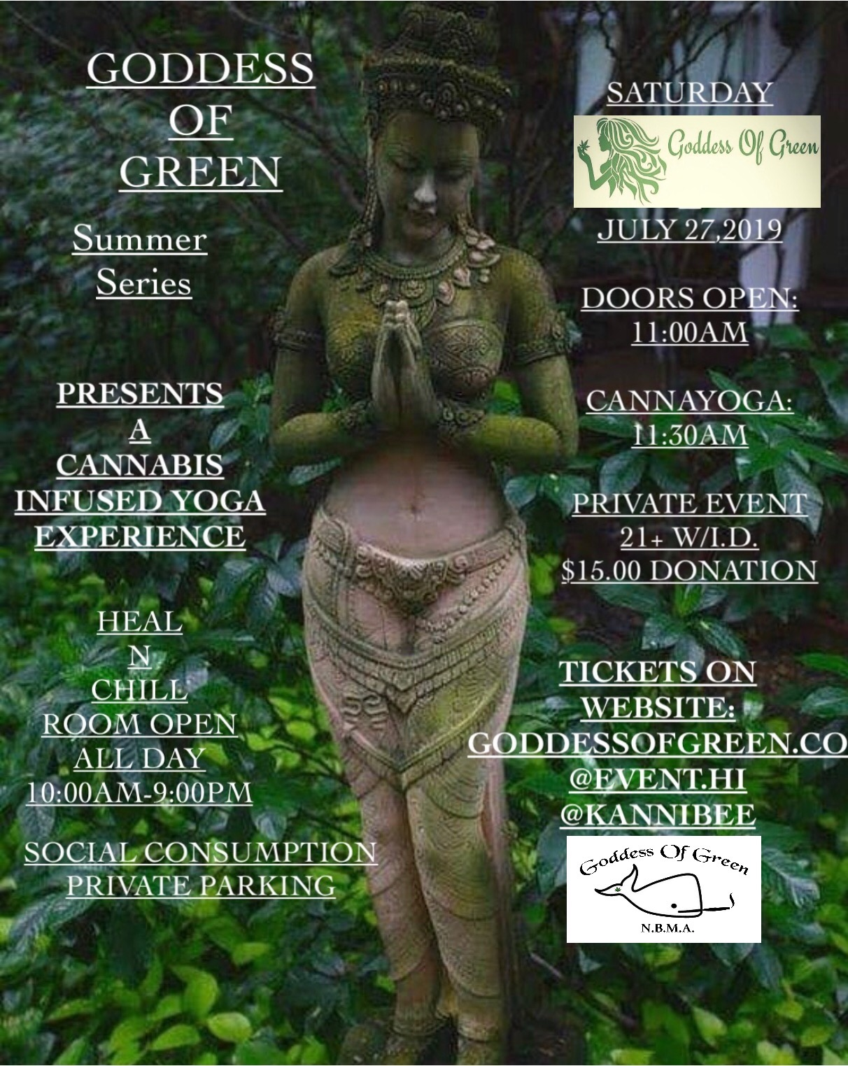 Summer Series A Cannabis Infused Yoga Experience